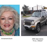 Silver Alert for Annamarie Doyle from Plano. TX plate ANGLS7. Last seen at 3:30pm, 2/10/16 in Plano. https://t.co/FZ935JZUvK