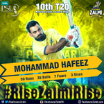 Amazing performance by @MHafeez22! #RiseZalmiRise #HBLPSL #AbKhelKeDikha https://t.co/nGzAy51hvP