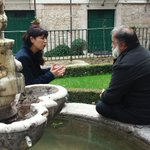 #AnaRedondo con @JavierPerezARGI en @CasaCervantes de #Valladolid grabando el programa #ElArcón de #La8 de @rtvcyl https://t.co/aZzf7Lwbyc