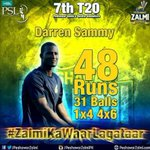 Hes gonna hit that long sixes again for #PeshawarZalmi like last my match @darrensammy88 our #Zalmi #RiseZalmiRise https://t.co/zKTe7fGwjj