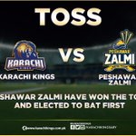 #PeshawarZalmi Have Won The Toss & Elected To Bat First #KKvsPZ #KarachiKings #KarachiWillRiseAgain #HBLPSL https://t.co/p9pC2apnvN