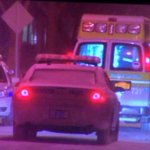 Rochester Police investigating a stabbing on Wilkins st. Between Hudson and Joseph. Rural metro transported. #roc https://t.co/HczHsfvdC8