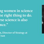 Why support women & girls in science? @CEMatterson explains #SciWomen #WomenInSTEM https://t.co/tcN5h2C8GV