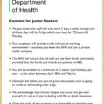 EXCLUSIVE: The new contract Jeremy Hunt has offered to junior doctors https://t.co/FJBpsNNitn