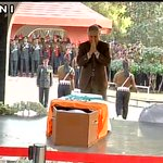 Defence Minister & Rao Inderjit Singh (MoS Defence) pay last respects to Lance Naik Hanamanthappa in Delhi. https://t.co/FUMpnm2Pj9
