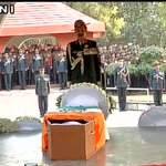Three service chiefs pay their respects to Lance Naik Hanamanthappa at Brar Square in Delhi: ANI https://t.co/KlfgEiTZML