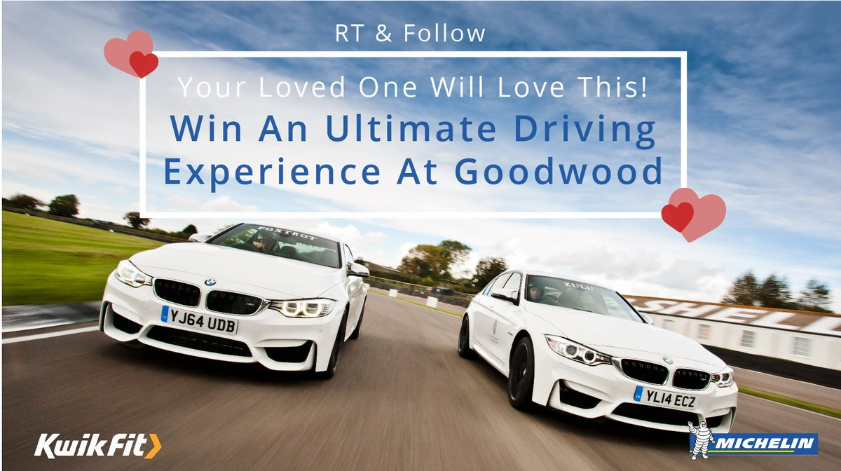 Got your loved one a #valentines gift yet? How about a BMW driving experience? RT & Follow to enter! #win #comp https://t.co/Cd0taq7bYp
