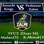 Live update #HBLPSL #KarachiKings #PeshawarZalmi https://t.co/KuIz3BVHHE https://t.co/25jDhW2aGA