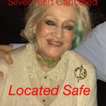 SILVER ALERT CANCELED - Mrs. Doyle was located safe and in good condition.  Thanks for all your help! #Success https://t.co/VHaDCZZjJu