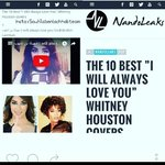 "Best"" I Will Always Love you https://t.co/4cuTDRWU9w ✔ @SuhilaBnLachhab #WhitneyHouston #BiographyChapterTitles https://t.co/RAdNaSoJyv"