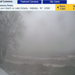 Another look at a very snow lakeshore in the #ROC area... https://t.co/GY28zkGfEx