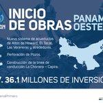 Construimos acueductos y líneas de conducción en Panamá Oeste, en beneficio de miles de residentes. #PanamáPrimero https://t.co/cjg9qQqqIZ