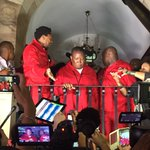 "Leader of EFF Julius Malema gives ""the real State of Nation address"" Eish these guys are funny! https://t.co/h8FbDStQ9T"