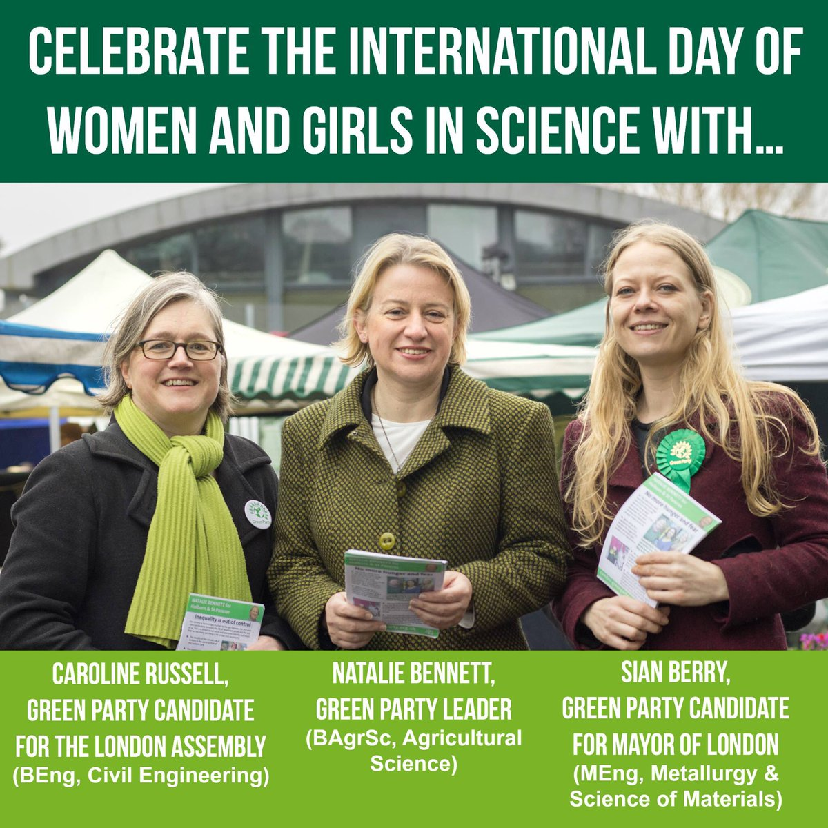 Work hard at science & you too can be a politician! Celebrating women & girls in science w @sianberry & @natalieben https://t.co/DoMMHtIFkZ