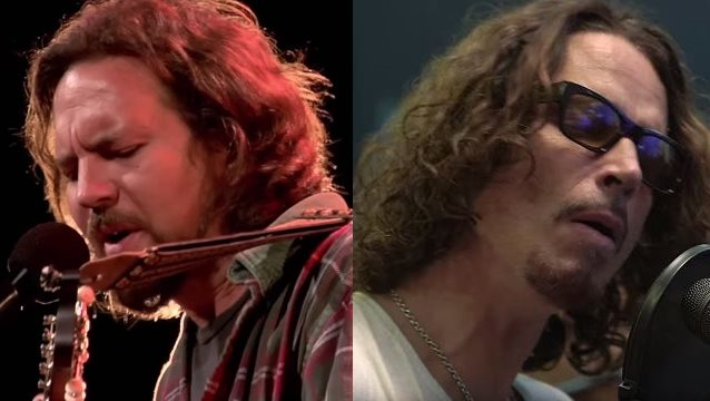 Eddie Vedder And Chris Cornell EDDIE VEDDER, CHRIS CO...