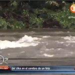 Se registran fuertes lluvias en la Veraguas y el Río Santa María presenta una crecida por cabeza de agua https://t.co/ZkWMct8EyU