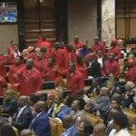 "#SONA2016 Malema: He is no longer our President!!!! ""ZUPTA MUST FALL"" chants fill the National Assembly https://t.co/zpPjscdyRP"