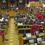 #ZuptaMustFall #ZuptaMustFall #ZuptaMustFall #ZuptaMustFall chants EFF... #SONA2016 https://t.co/CojNhghlZ2