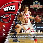 BIG honor for Kendall as she earns a spot on CoSIDAs Academic All-District Team! #GoTops | https://t.co/dbqSeStZ0v https://t.co/bXfaQFNRmq