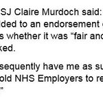 Statement from @ClaireCNWL to HSJ...pretty clear she should never have been on that list #juniorcontract https://t.co/NXmK4AOXvt