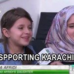 Just check the innocence level.. On asking Afridis daughters replied,they are supporting Karachi Kings N S. Malik ???? https://t.co/GTM55Gw8ev