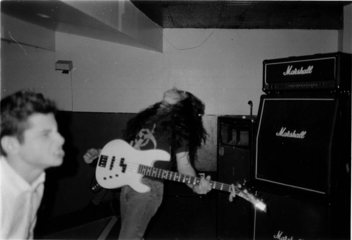 26 yrs ago Feb. 11, 1990, Life of Agony performed its first show. These pix are from the rehearsal the night before https://t.co/gKESM9Kam8