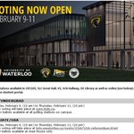 Last day to vote! Make it count Warriors! #UWSLCPAC @UWaterlooLife https://t.co/QRoFzrCtnS