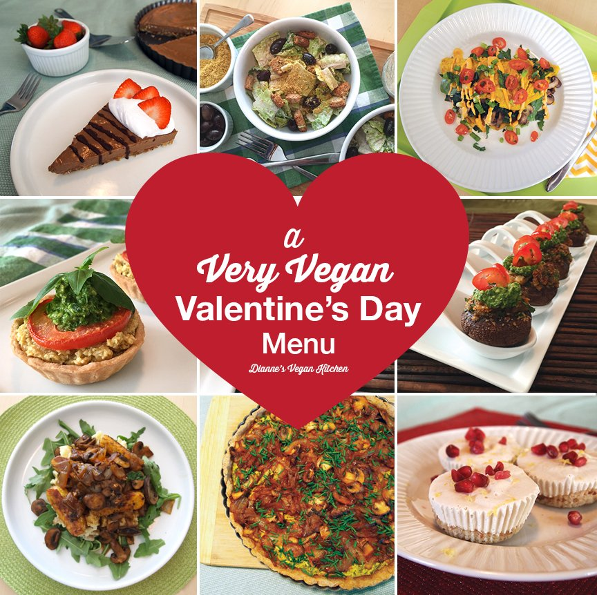 In need of #ValentinesDay recipes? @diannewenz has a #vegan menu that everyone will love! https://t.co/DJ7rSOop0u https://t.co/jHUWCM5Xb8