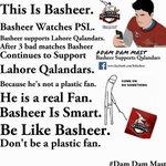 Be Like Basheer :)! Support #LahoreQalandars! #MobilinkKaySikandar #PSLT20 #HBLPSL #DamaDamMast #AbKhelKeDikha https://t.co/GdJxtA9q4s
