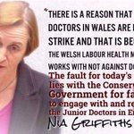 The Conservatives are demoralising NHS staff. Proud to say that Labour back #juniordoctors. Lets protect our NHS. https://t.co/aokDr6Mes4