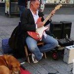 PLEASE #HELP RETURN BLIND MANS STOLEN GUITAR EQUIPMENT! Stolen from #Manchester. Pls RT! https://t.co/0vlqgkPVqG https://t.co/WhMk9oHKbO