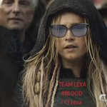 Alright kru, remember to cheer hard tonight for our brave Heda TEAM LEXA all the way!!! BLOOD!!! #The100 https://t.co/JAblgbiSdA