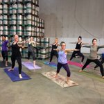#beer + #yoga =brewga. This is a thing! Happens Thursdays @BigRockBrewery yoga 1st then #beertasting @CTVMorningYYC https://t.co/3z5YTTi0FR