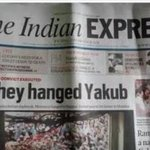 "How can India evr 4get this ""Headlines"" by @IndianExpress What a betrayal 2 d victims of 26/11 #MediaCongWithTerror https://t.co/aJHhDxGjXC"