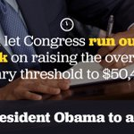 Tell @POTUS and @USDOL you support giving millions of workers access to overtime pay. https://t.co/BOLVCLUK0E https://t.co/TeyVHbZsty