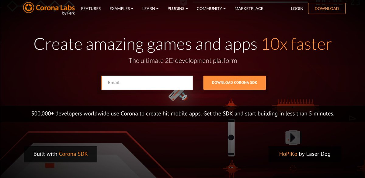 It's here! The new Corona Labs website design is live. https://t.co/skOiVxNOKm #coronasdk https://t.co/r3pFnZVXl1