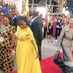 Thuli Madonsela looking amazing as she arrives at Parliament #SONA2016 https://t.co/x4MlK63jPT