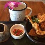 Dont miss Chef Bees Thai Steet Dumplings @NaiYaRaMiami #BiteWithBelkys @wsvn 5:30 @belkysnerey #MiamiBeach #yum https://t.co/lK3zHyGJLn