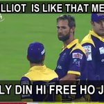 3 Wickets in first match by Elliot :) #ISLAMABADvQUETTA https://t.co/Jxs5J1GmjN