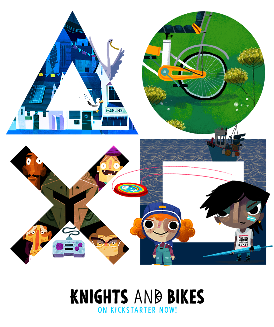 Knights And Bikes, our Goonies-inspired, hand-painted adventure is coming to PS4! https://t.co/EtAmiRuWqx https://t.co/38ZO2n4uQO