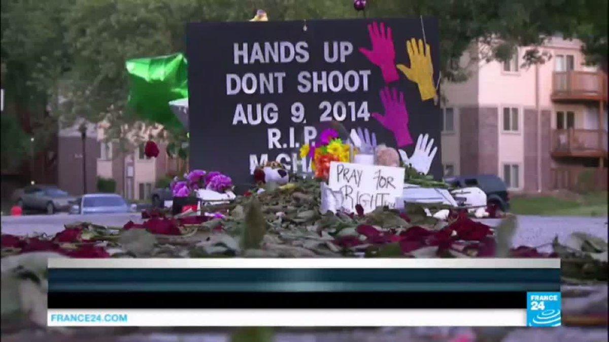VIDEO -  US justice department sues Ferguson