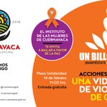 Un Billón de Pie. Manifiéstate, Baila, Levántate. #Cuernavaca https://t.co/R5YTTq60r9
