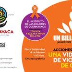 Un Billón de Pie. Manifiéstate, Baila, Levántate. #Cuernavaca https://t.co/wHkqlL1dFb