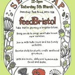 Less than a month til you can get & swap seeds, learn about growing and eat cake! #Bristol #seedswap #gardening https://t.co/2CzEYEPOau