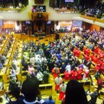 Beautiful democratic moment as the judiciary is warmly welcomed by all in the National Assembly - even by the EFF! https://t.co/5bqimngEoC
