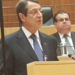 @AnastasiadesCY Ιστορική σύνοδος της βουλής #Cyprus https://t.co/nE6UENu4Gs