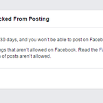 I posted an Indian Express pic on FB. Now I am blocked for 30 days by Facebook. Long live FOE! Long live criticism! https://t.co/TKlgchhMZ6