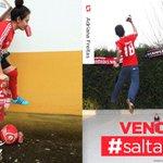 Parabéns à @Carolina_meme e à Andreia Freitas! Foram as vencedoras do #SaltaBenfica para o @SLBenfica vs FC Porto! https://t.co/cSetJC8dms