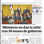#TemaDelDia ¿Se deben cambiar a los ministros? https://t.co/JJnpA355xy