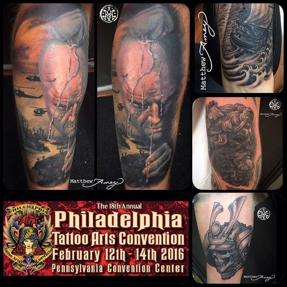 Photos video pictures ppt of philadelphia tattoo arts for Tattoo convention pa
